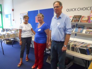 Book sale volunteers 12 September 2015