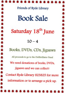 Friends of Ryde Library Book Sale 18 June 2016